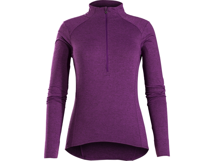 Bontrager Trikot Vella Thermal LS M Purple Lotus