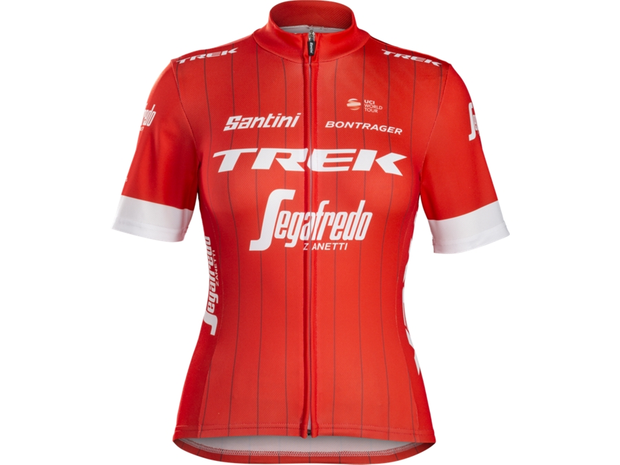 Trikot Santini Trek-Segafredo Replica Women's S Red