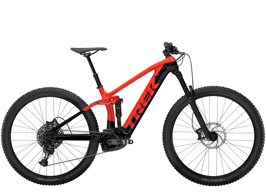 Trek Rail 9.5 XL Gloss Radioactive Red/ Trek Black