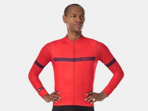 Bontrager Jersey Circuit Long Sleeve Small Radioactive Red
