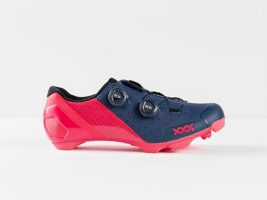 Bontrager Schuh XXX MTB 47 Nautical Navy/Radioactive Pink