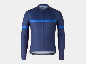 Bontrager Trikot Circuit Long Sleeve M Deep Dark Blue