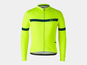 Bontrager Trikot Circuit Long Sleeve M Yellow