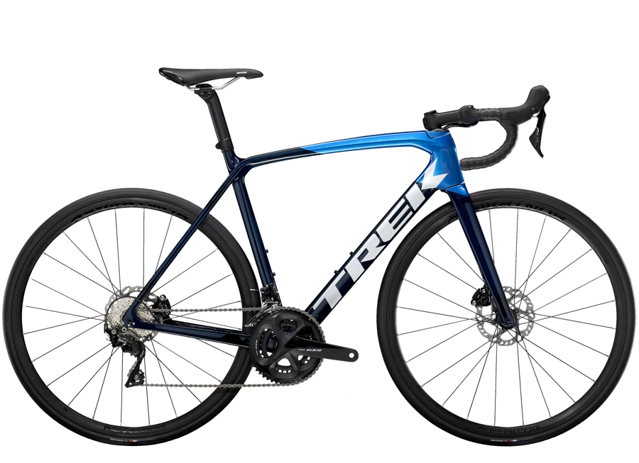 Trek Émonda SL 5 Disc 54 Carbon Blue Smoke/Metallic Blue